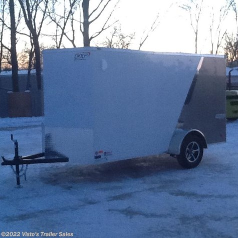 2018 Bravo 6'X12' Enclosed Trailer