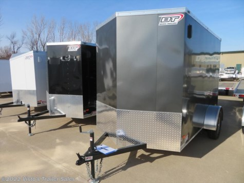 2018 Bravo Scout 6'X10' Enclosed Trailer