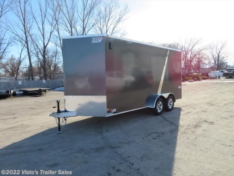 2019 Bravo 7'X16' Enclosed Trailer