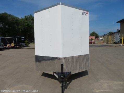 2019 Bravo 7'X12' Enclosed Trailer