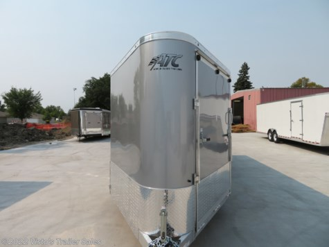 2019 ATC 7'X22'+6' Enclosed Snowmobile Trailer