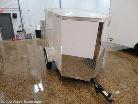 2019 Continental Cargo V-Series 4'X6' Enclosed Trailer