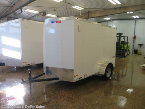 2019 Bravo Hero 6'X10' Enclosed Trailer