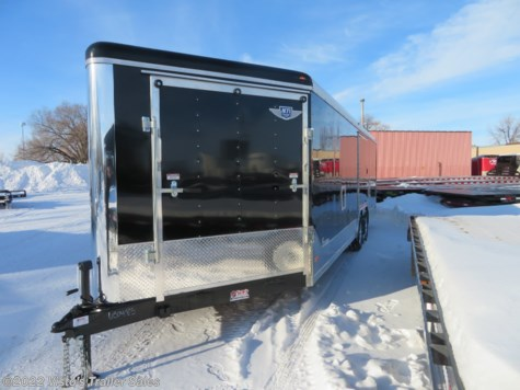 2019 MTI 8.5'X29' Enclosed Snowmobile Trailer