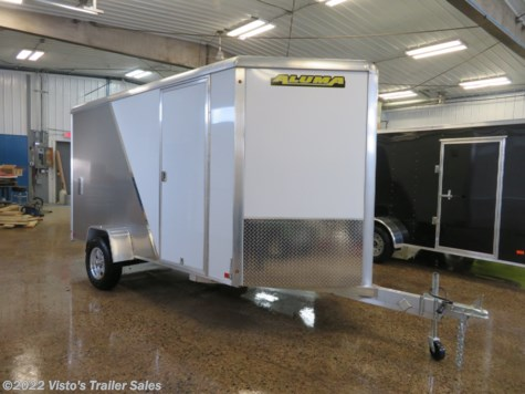 2019 Aluma AE612 6'X12' Enclosed Trailer