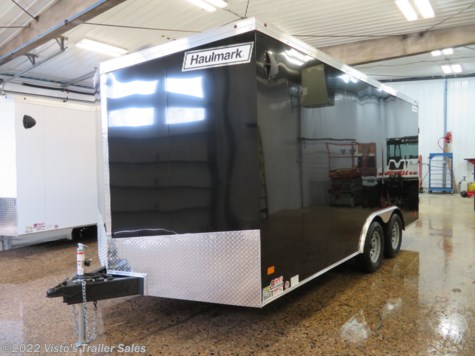 2019 Haulmark Transport 8.5'x16' Enclosed Trailer