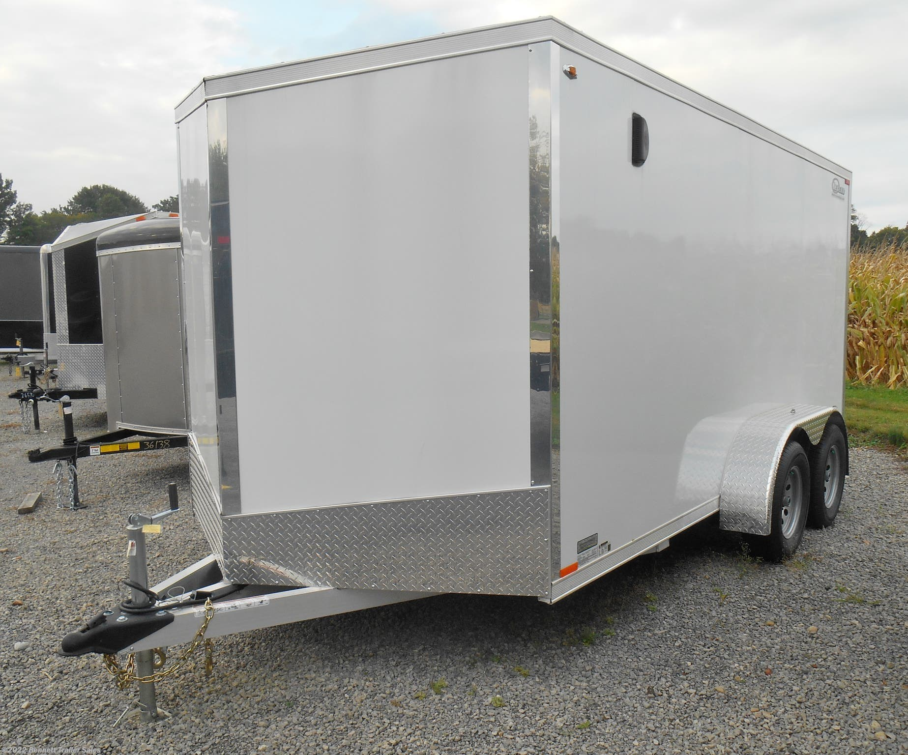 Stock Photo - Trailer will be Charcoal with Aluminum Wheels
