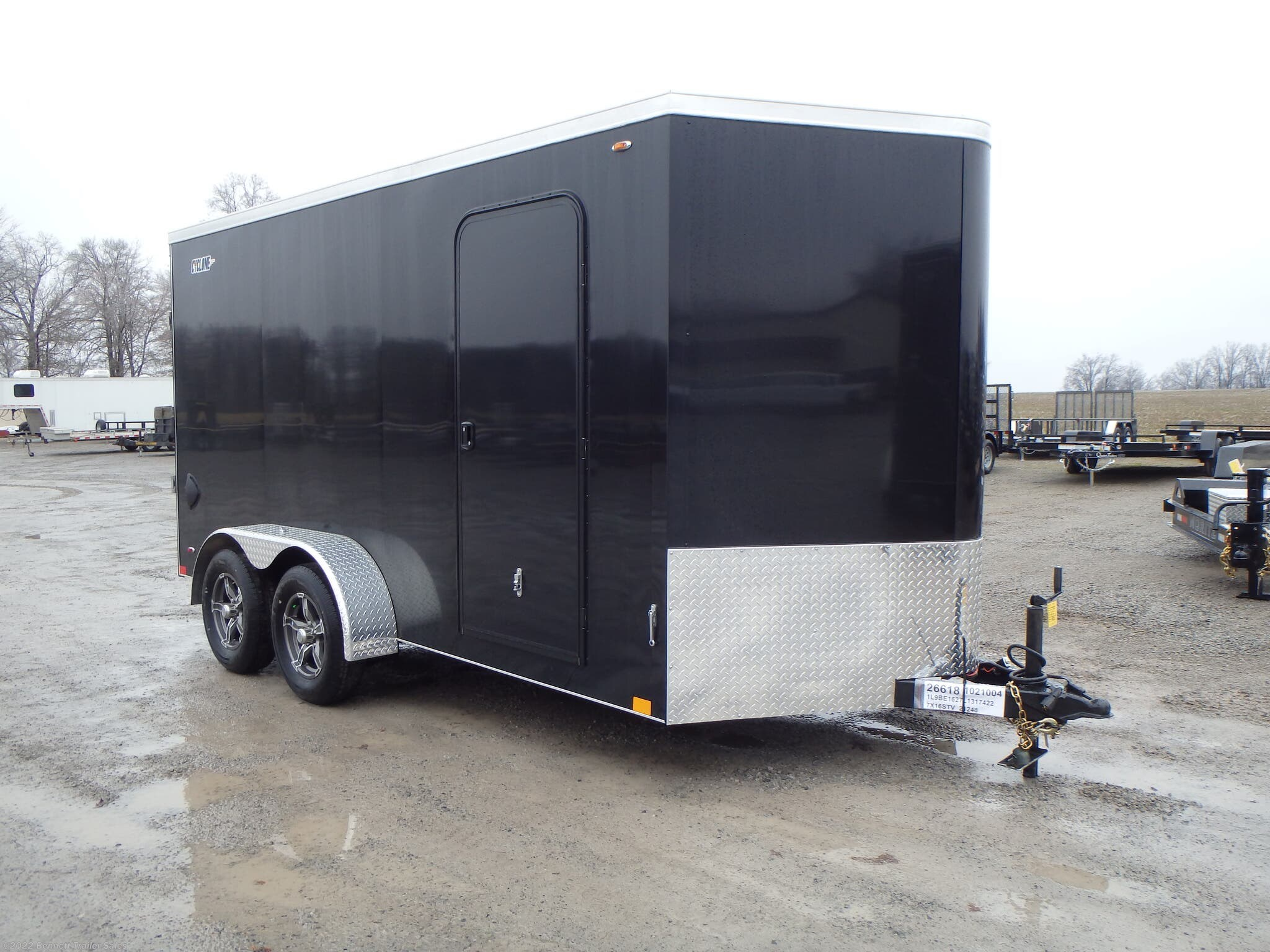 Stock Photo - Trailer will be Charcoal