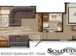 Used 2014  Grand Design Solitude 368RD by Grand Design from Optimum RV in Ocala, FL