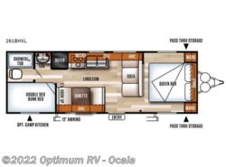 Used 2017  Forest River Salem Cruise Lite 261BHXL by Forest River from Optimum RV in Ocala, FL