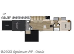 New 2018  Heartland RV Road Warrior 427RW by Heartland RV from Optimum RV in Ocala, FL