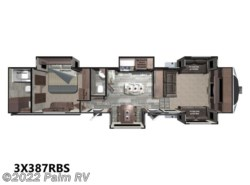 New 2017  Open Range 3X 387RBS by Open Range from Palm RV in Fort Myers, FL