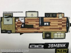 New 2018  Keystone Retreat 391MBNK by Keystone from Ted's RV Land in Paynesville, MN
