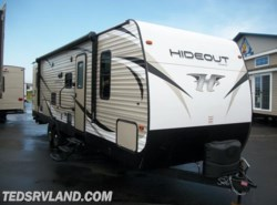 New 2018  Keystone Hideout 28BHS by Keystone from Ted's RV Land in Paynesville, MN