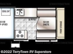 New 2017  Forest River Rockwood Hard Side A212HW by Forest River from TerryTown RV Superstore in Grand Rapids, MI