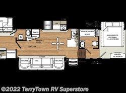 New 2018  Forest River Sandpiper 376BHOK by Forest River from TerryTown RV Superstore in Grand Rapids, MI