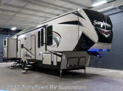 New 2018  Forest River Sandpiper 369SAQB by Forest River from TerryTown RV Superstore in Grand Rapids, MI