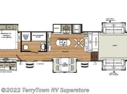 New 2019  Forest River Sandpiper 379FLOK by Forest River from TerryTown RV Superstore in Grand Rapids, MI