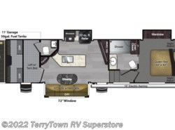 New 2019  Keystone Carbon 357 by Keystone from TerryTown RV Superstore in Grand Rapids, MI