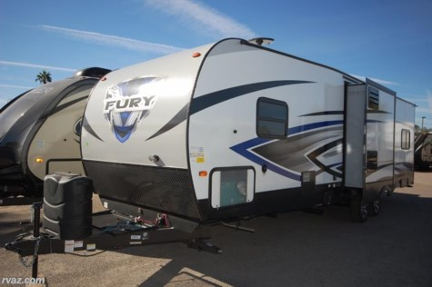 2018 Prime Time Fury 3110 2 Slide Toy Hauler