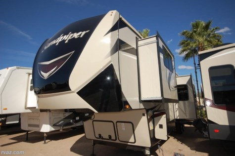 2019 Forest River Sandpiper 38FKOK 6 Slide Front Kitchen