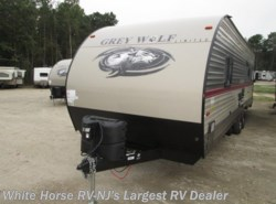 New 2018  Forest River Grey Wolf 26RR Front Queen Rear Garage w/ Patio Deck by Forest River from White Horse RV Center in Egg Harbor City, NJ