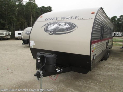 2018 Forest River Grey Wolf 26RR Front Queen Rear Garage w/ Patio Deck