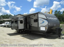 New 2018  Coachmen Catalina 333BHTSCK Legacy Ed Bunkhouse Triple Slide by Coachmen from White Horse RV Center in Egg Harbor City, NJ