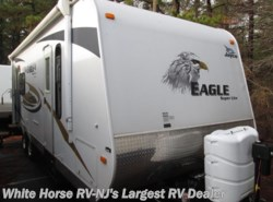 Used 2010  Jayco Eagle Super Lite 256 RKS Rear Kitchen Slide-out by Jayco from White Horse RV Center in Williamstown, NJ