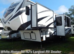 Used 2015  Keystone Fuzion 331 Triple Slideout w/11' Garage