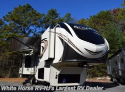 New 2018  Grand Design Solitude 373FB, Rear living, Front bath, dual vanity sink by Grand Design from White Horse RV Center in Egg Harbor City, NJ