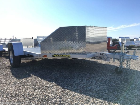2022 Aluma MC210 Motorcycle Trailers available in Van Alstyne, TX