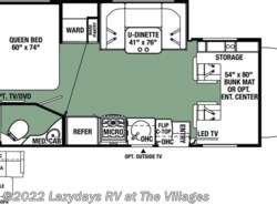 New 2018  Forest River Forester 2401W by Forest River from Alliance Coach in Wildwood, FL