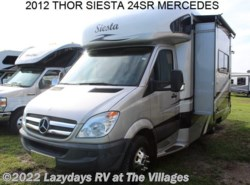Used 2012  Thor  SIESTA 24SR by Thor from Alliance Coach in Wildwood, FL