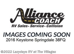 Used 2016  Keystone Springdale 38FQ by Keystone from Alliance Coach in Wildwood, FL