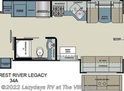 New 2018  Forest River Legacy 34A by Forest River from Alliance Coach in Wildwood, FL
