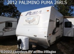 Used 2012  Palomino Puma 26RLS by Palomino from Alliance Coach in Wildwood, FL