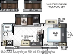 New 2018  Forest River Rockwood 2511 by Forest River from Alliance Coach in Wildwood, FL