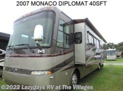 Used 2007  Monaco RV Diplomat 40SFT by Monaco RV from Alliance Coach in Wildwood, FL