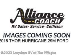 New 2018  Thor  HURRICANE 29M by Thor from Alliance Coach in Wildwood, FL