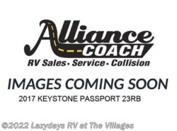Used 2017  Keystone Passport 23RB by Keystone from Alliance Coach in Wildwood, FL