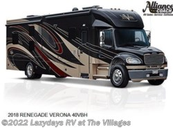 New 2018  Renegade  VERONA 40VBH by Renegade from Alliance Coach in Wildwood, FL