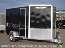 "2021 Aluma AE712R Enclosed 6'9"" Int Cargo - Black"