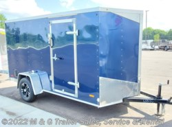 "2020 RC Trailers 6x12SA Enclosed 6'6"" Int Cargo - BLUE"