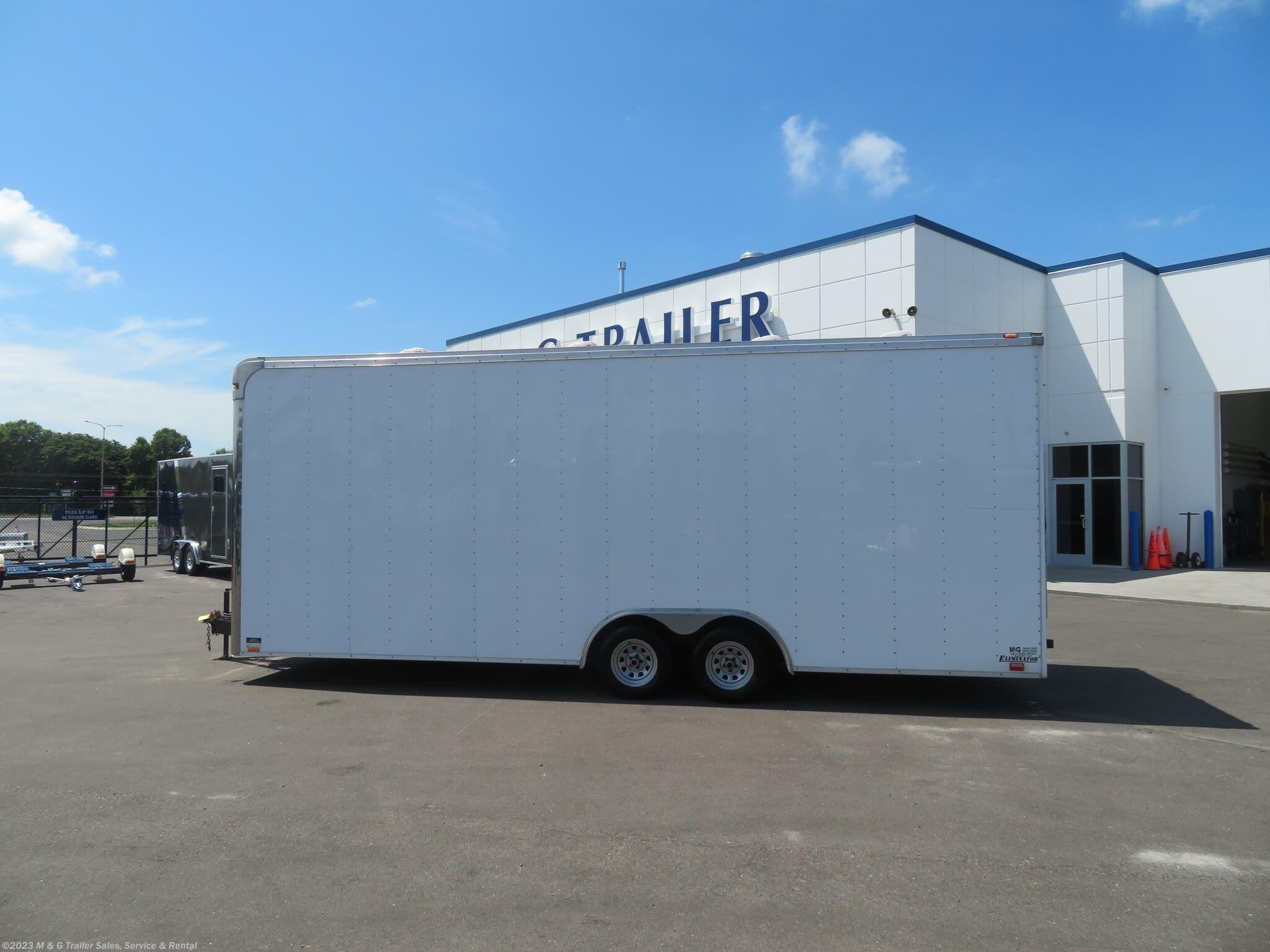 2005 Cargo Mate 8.5 x 24 Enclosed Trailer - Stock #049237