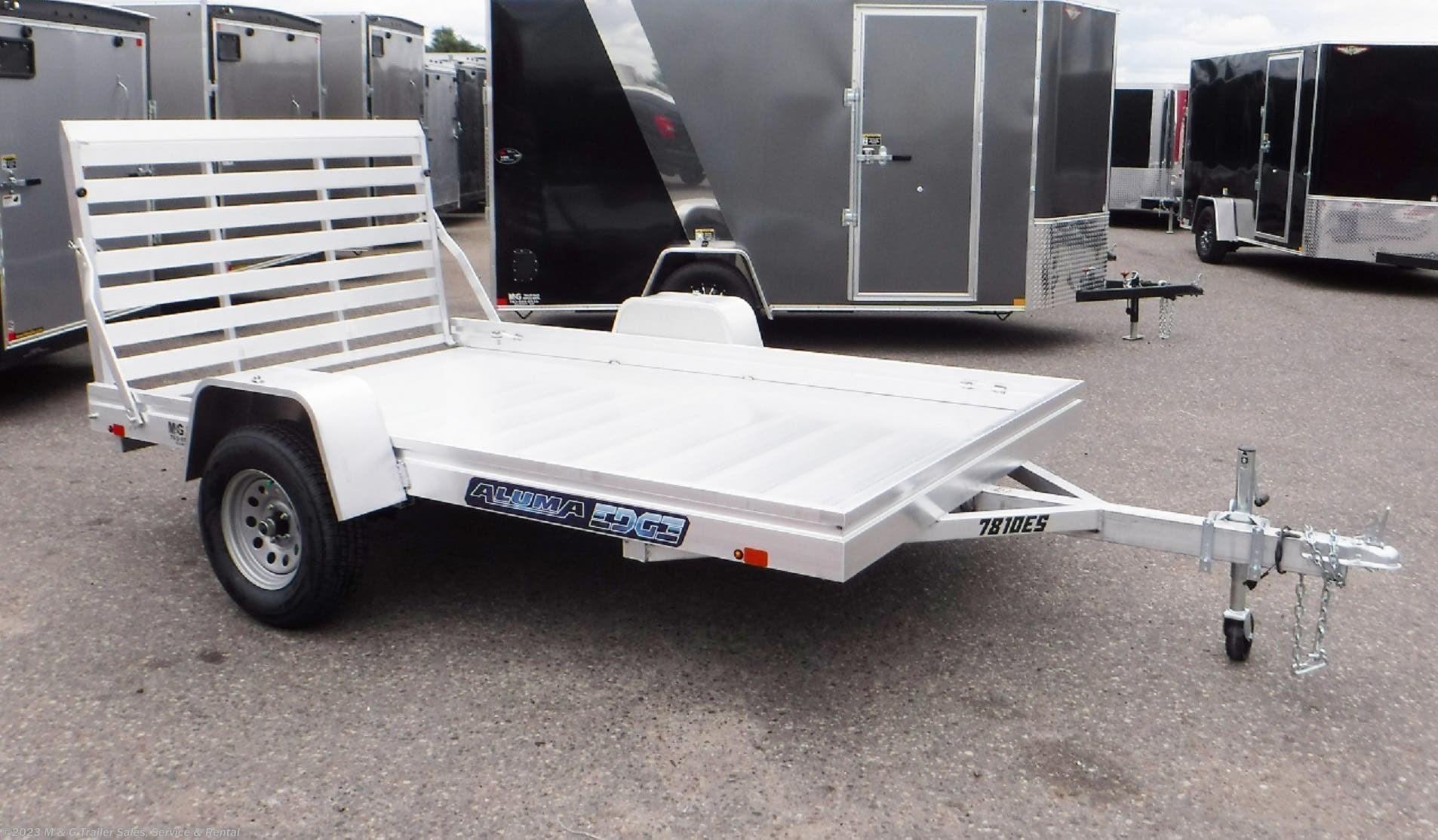 2021 Aluma 7810ES Aluminum Utility Trailer - Stock #224296