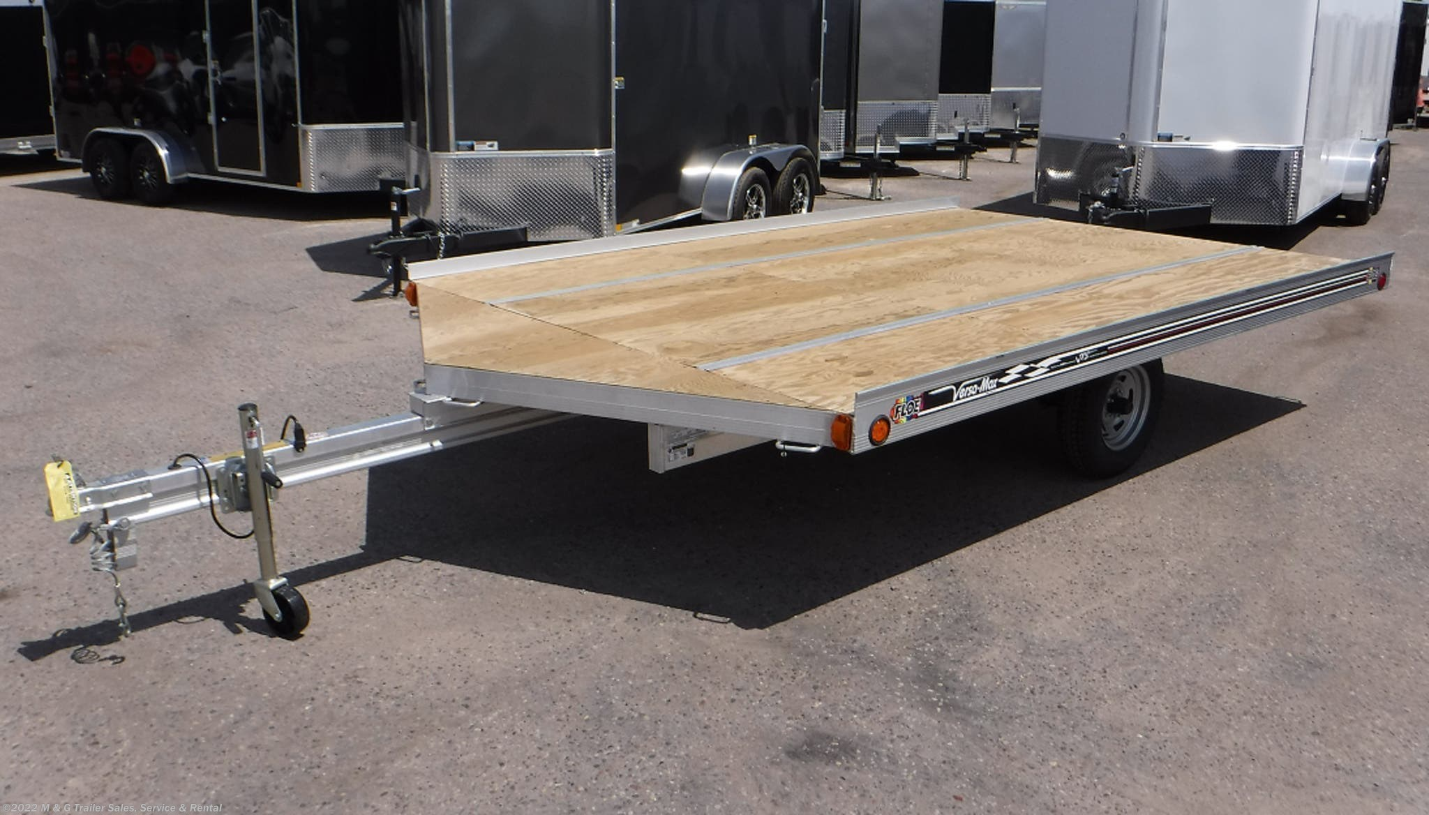 2021 FLOE 12' Drive On/Off Snowmobile Trailer - Stock #001271