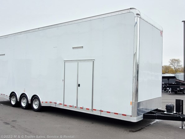 2021 RC Trailers RCS Series 8.5x32 Deluxe Stacker Race Trailer! available in Ramsey, MN