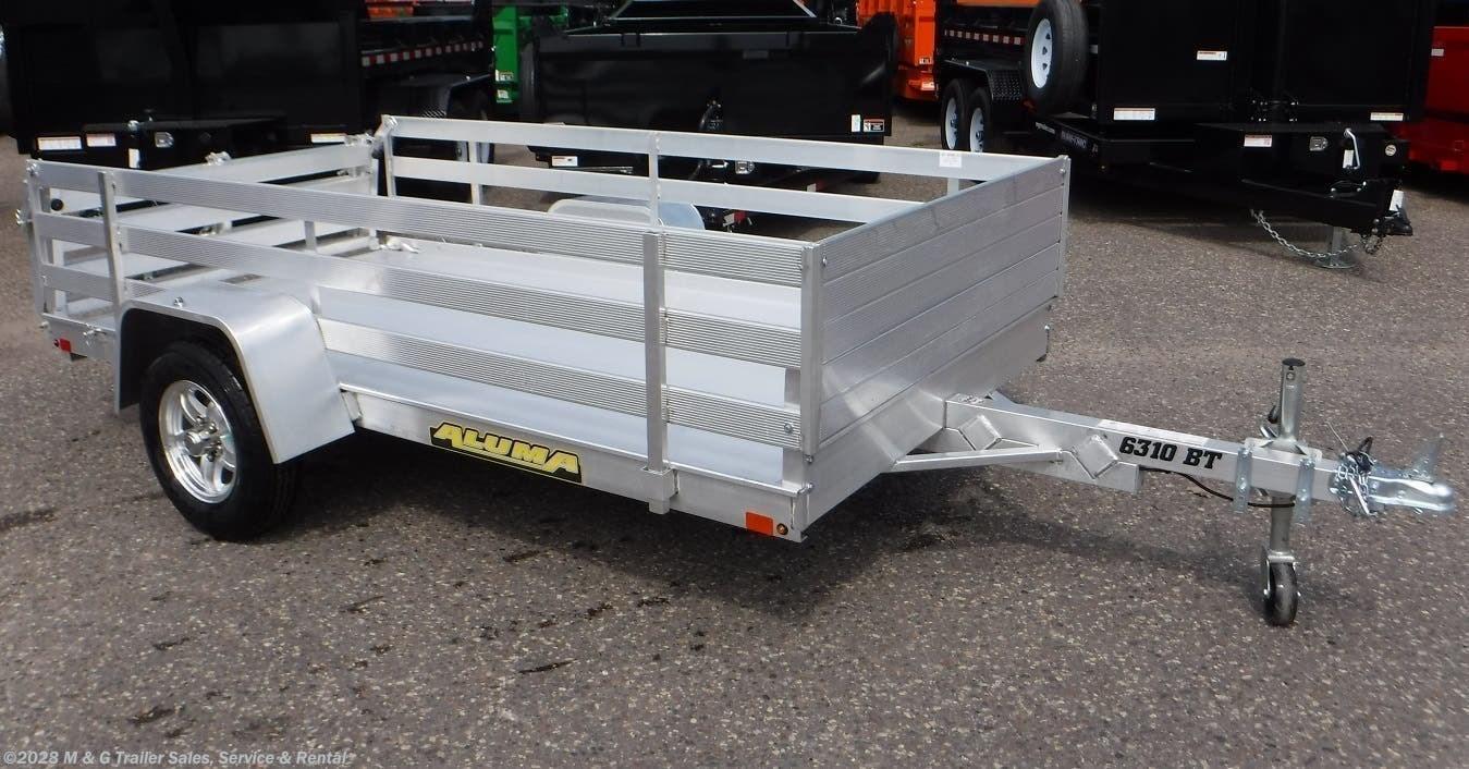 2022 Aluma 6310 BT Aluminum Utility Trailer - Stock #230088