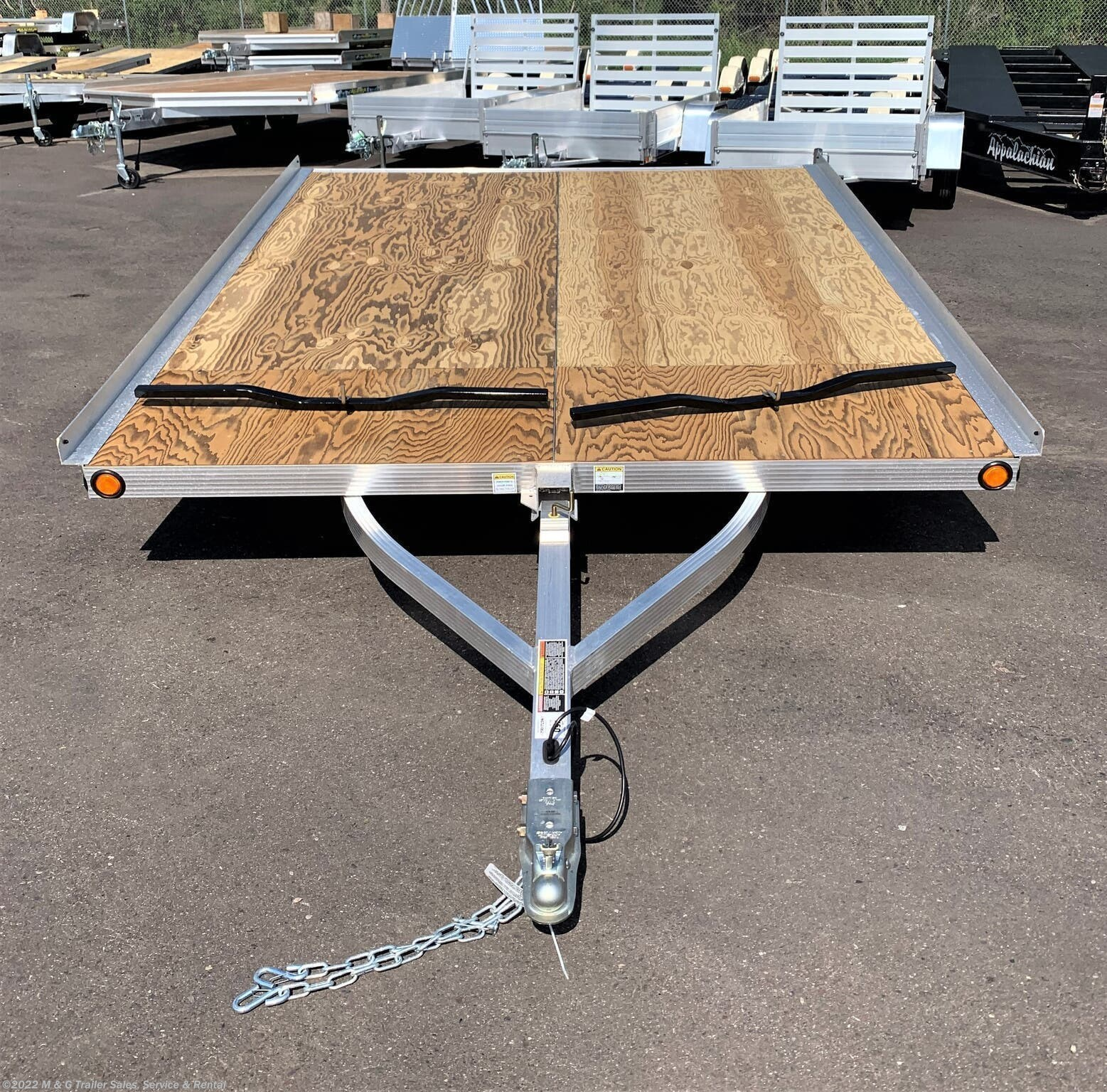 2021 Triton Trailers XT10-101 Tilt 2 Place Snowmobile Trailer - Stock #x56706